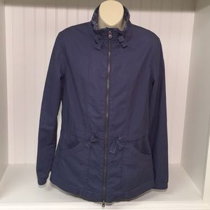 Lucy Blue Utility | Military Jacket | Size Medium